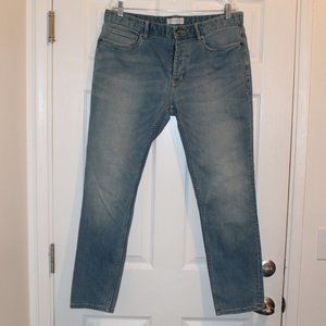 Men's Topman Stretch Skinny light wash Jeans 36
